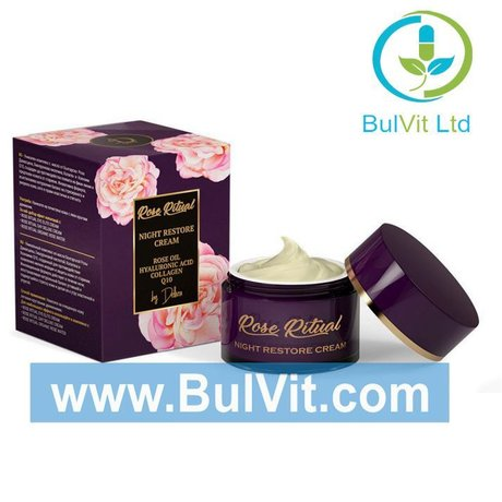 DELLIVA ROSE RITUAL NIGHT RESTORE CREAM НОЩЕН КРЕМ